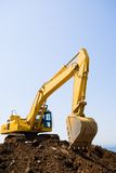 Excavator. On a working platform Royalty Free Stock Photography