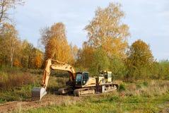 Free Excavator And Bulldozer Stock Images - 70030624