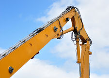 Excavator arm. Royalty Free Stock Image