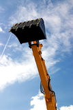 Excavator Arm. Prepared for dig Stock Images