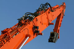 Excavator arm Royalty Free Stock Photo