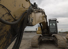 Excavator arm Royalty Free Stock Photography