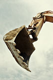 Excavator bucket Stock Photo