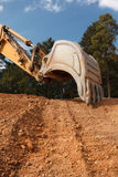 Excavator bucket Royalty Free Stock Photography
