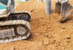 Excavator bucket digger Royalty Free Stock Image
