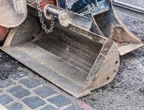 Excavator bucket Royalty Free Stock Photos