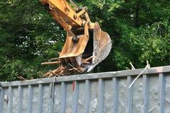 Free Excavator Bucket Dumping Stock Photos - 14593923