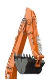 Excavator bucket Royalty Free Stock Photo