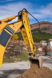 Excavator bucket Royalty Free Stock Photos