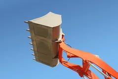 Excavator bucket or shovel Stock Image