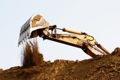 Excavator bucket Royalty Free Stock Image
