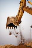 Excavator bucket Royalty Free Stock Images