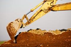 Excavator bucket Royalty Free Stock Photography