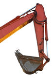 Excavator bucket on white background isolated Stock Image