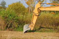 Excavator buckets Stock Images
