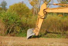 Excavator buckets Stock Images