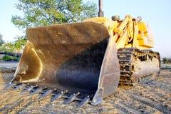 Excavator bulldozer Stock Image