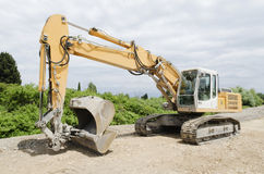 Excavator caterpillar Royalty Free Stock Photography
