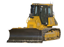 Excavator, clipping path Royalty Free Stock Images