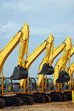 Excavator Construction Equipment royalty free stock images
