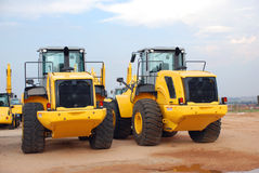 Excavator Construction Equipment Stock Photos
