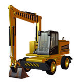 Excavator Construction Vehicle Royalty Free Stock Image