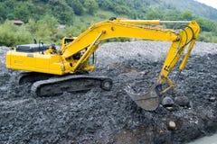Excavator crane  Stock Photos
