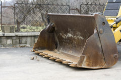 Excavator cup Royalty Free Stock Images