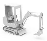 The excavator Stock Images