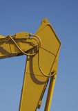 Excavator Detail. With Blue Sky Background Stock Photography