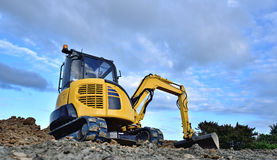 Excavator or Digger Royalty Free Stock Images