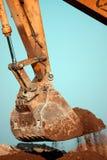 Excavator digging Stock Image