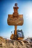Excavator digging Stock Photo