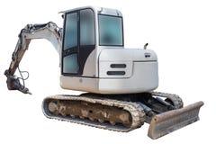 Excavator hammer isolated on white background Royalty Free Stock Photos