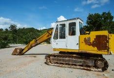 Excavator heavy vehicle Royalty Free Stock Image