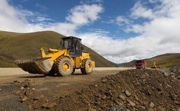 Free Excavator In Road Stock Photos - 29372933