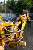EXCAVATOR industry construction Royalty Free Stock Photos