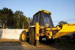EXCAVATOR industry construction machine Stock Photos