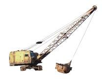 Excavator isolated Stock Photos
