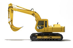 Excavator isolated Stock Photography
