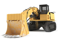 Excavator isolated Stock Image
