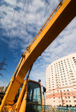 Excavator lifting arm Royalty Free Stock Image