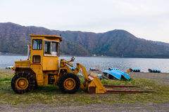 Excavator Loader Royalty Free Stock Photo