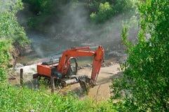Excavator loader loader Stock Image