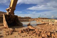 Excavator loader machine Royalty Free Stock Photography