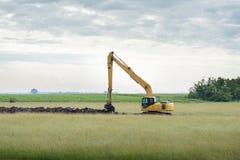 Excavator loader Royalty Free Stock Photo