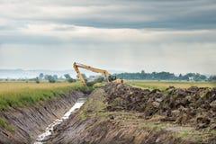 Excavator loader Stock Photo