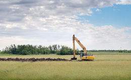 Excavator loader Stock Photo