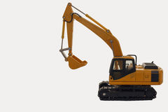 Excavator loader model Royalty Free Stock Photo
