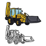 Excavator Loader Royalty Free Stock Image